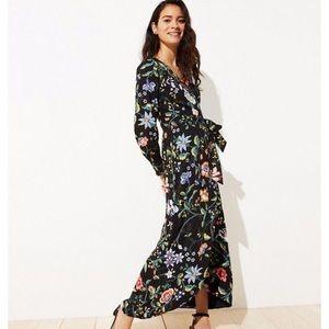 Loft Vine Wrap Maxi Dress, 2P